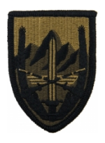 Combined Security Transition Command Afghanistan Scorpion / OCP Patch With Hook Fastener