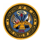 Department of the Army United States of America Patch