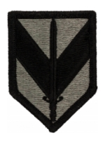 1st Sustainment Brigade Patch Foliage Green (Velcro Backed)