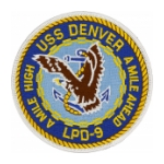 USS Denver LPD-9 Ship Patch