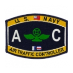 USN RATE AC Air Traffic Controller Patch