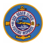 USS Ogden LPD-5 Ship Patch