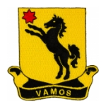 Cavalry Regiment Patches