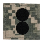 Army ROTC 1st Lieutenant with VELCRO® Backing (Digital All Terrain)