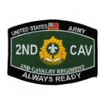 2nd Cavalry Regiment Patch