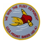 USS Mount Baker AE-4 Ship Patch