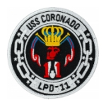 USS Coronado LPD-11 Ship Patch