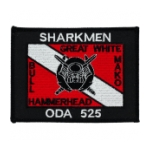 Special Forces ODA-525 Sharkmen Patch