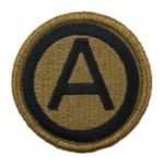 3rd Army Central Command Scorpion / OCP Patch With Hook Fastener
