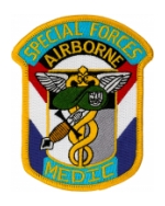 Special Forces Airborne Medic Patch