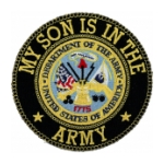 My Son Is In The Army Patch
