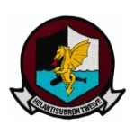 Navy Helicopter Anti-Submarine Squadron 12 Patch