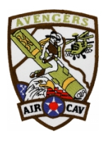 Avengers 1/227th Air Cavalry Patch