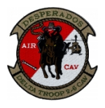 Desperado Delta Troop 2-6 Air Cavalry Patch (Velcro backed)