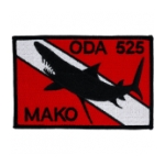 Special Forces ODA-525 Mako Patch