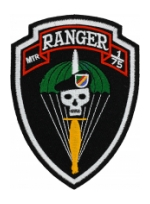 Mortar 1/75 Ranger Patch