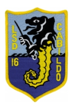 USS Cabildo LSD-16 Ship Patch