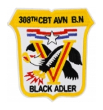 Army 308th Combat Aviation Battalion Patch