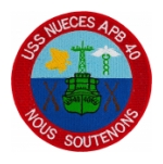 USS Nueches APB-40 Patch