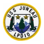 USS Juneau LPD-10 Ship Patch
