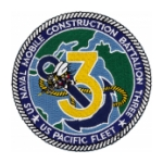 3rd Naval Mobile Construction Battalion Patch