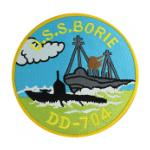 USS Borie DD-704 Ship Patch