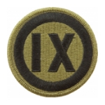 9th Corps Scorpion / OCP Patch With Hook Fastener