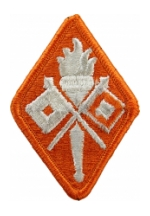 Signal Corps Center & School Patch