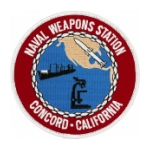Naval Weapons Station Concord, California Patch