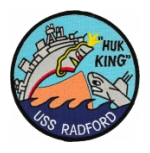 USS Radford DD-446 Ship Patch