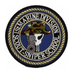 1st Marine Division Scout-Sniper School Patch