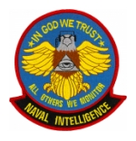 Naval Intelligence Patches