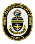 USNS Washington Chambers T-AKE-11 Patch