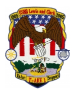 USNS Lewis and Clark T-AKE-1 Patch