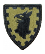 15th Military Police Brigade Scorpion / OCP Patch With Hook Fastener