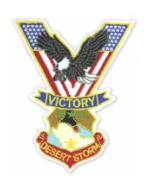 Desert Storm Victory Patch