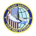 Silent Service Cold War Veteran Patch