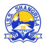 USS Shangri-La CV-38 Ship Patch