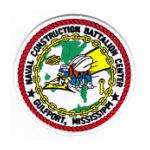 Naval Construction Battalion Center Gulfport, MS Patch