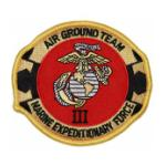 3rd Marine Expeditionary Force (Air Ground Team) Patch