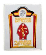 2nd Marine Division Headquarters Battalion Patch