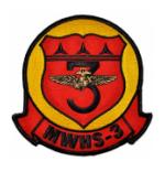 Marine Wing Headquarters Squadron 3 Patch