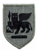 South European Task Force Patch Foliage Green (Velcro Backed)