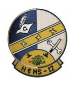 Marine Headquarters and Maintenance Squadron H&MS -12 Patch