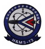 Marine Headquarters and Maintenance Squadron H&MS -13 Patch