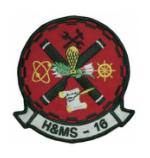 Marine Headquarters and Maintenance Squadron H&MS -16 Patch