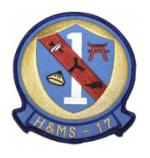 Marine Headquarters and Maintenance Squadron H&MS -17 Patch