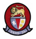 Marine Headquarters and Maintenance Squadron H&MS -24 Patch