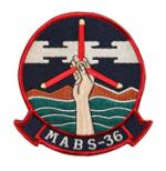 Marine Air Base Squadron MABS-36 Patch`
