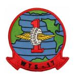 Marine Wing Transportation Squadron WTS-17 Patch